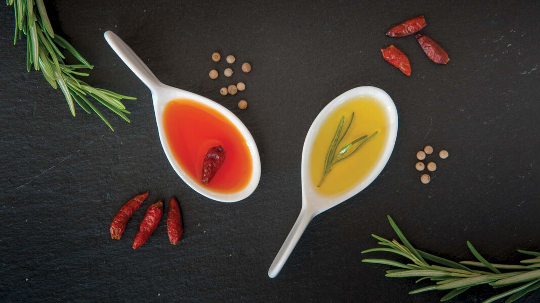 Aromatisierten Olivenöle