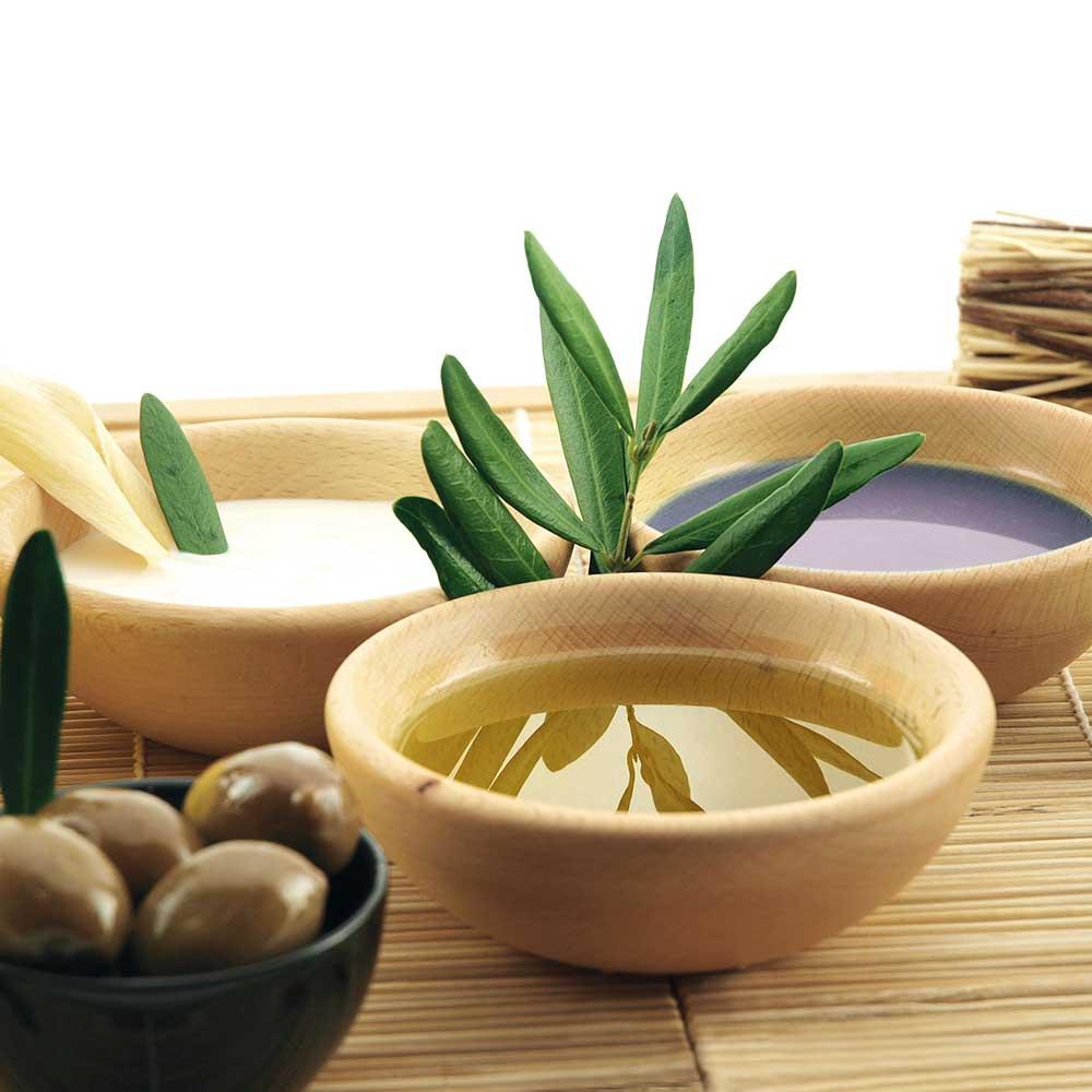 Kosmetik mit Olivenöl